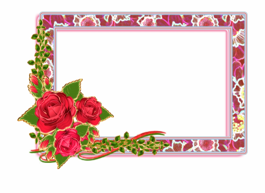 Flower Frame Png, Classic Wallpaper, Borders And Frames.