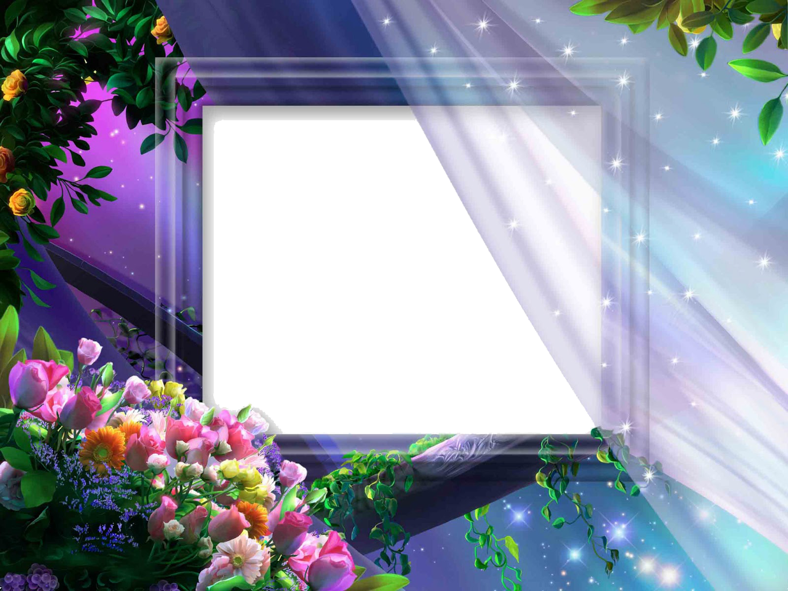 Wedding Frame PNG Transparent Images.