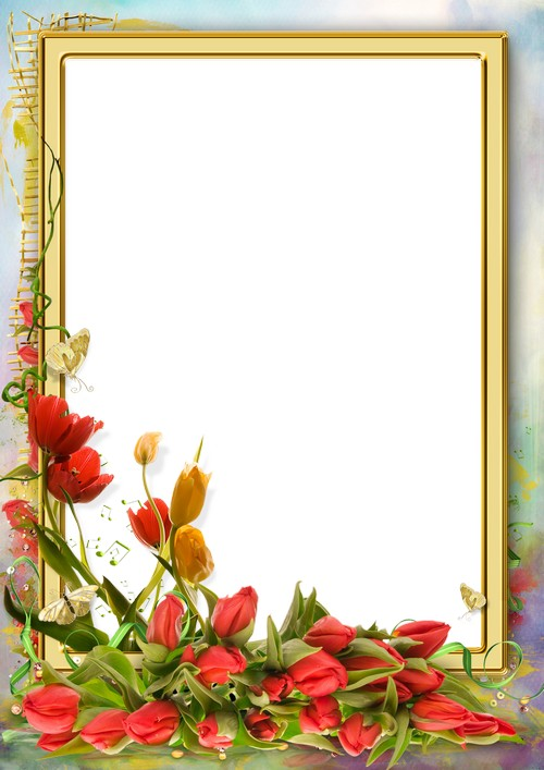 Download Free png Photo frame template From March 8 (free.