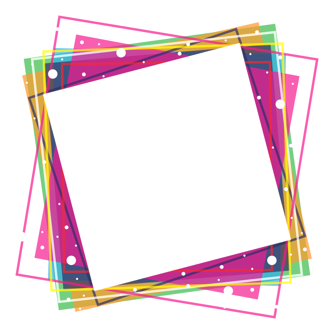 Colorful Frames Png.