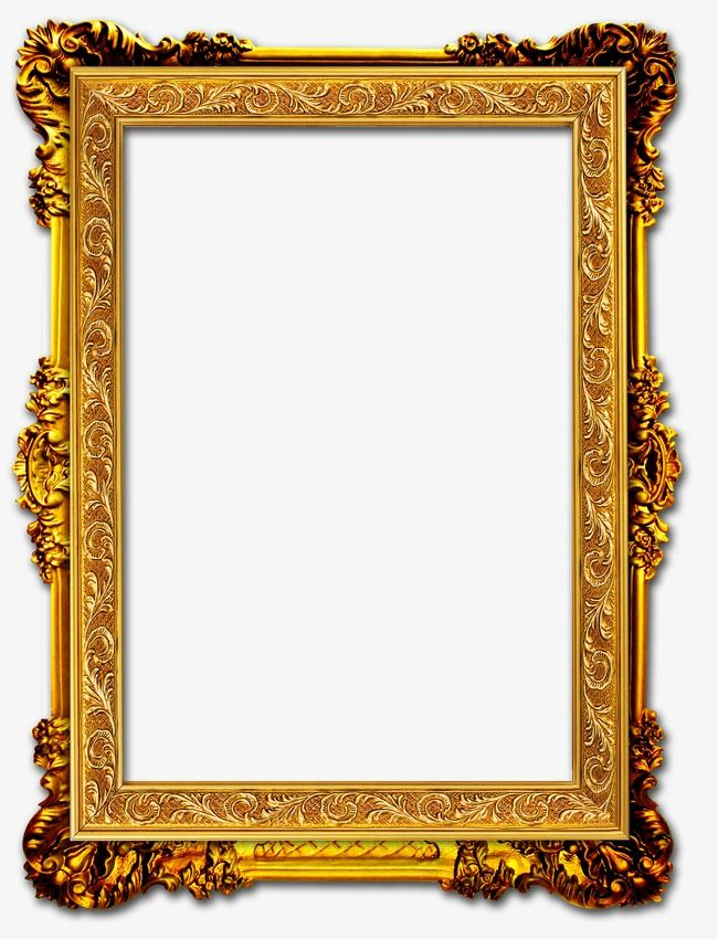 Gold Frame, Frame Clipart, Frame PNG Transparent Image and.