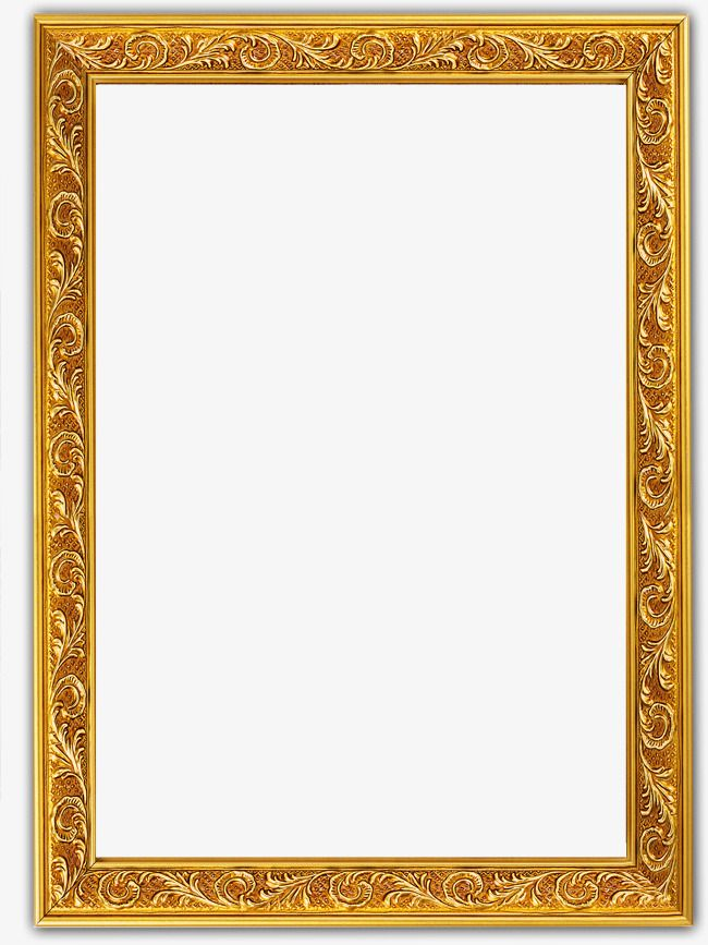Glyph Golden Border, Golden, Glyph Clipart, Golden Clipart.