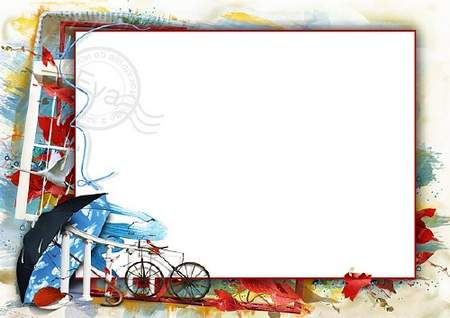 Autumn photo frame download (free frame psd free frame png.