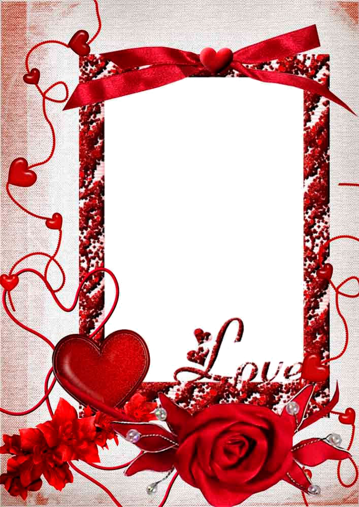 Download Love Frame PNG HD For Designing Work.