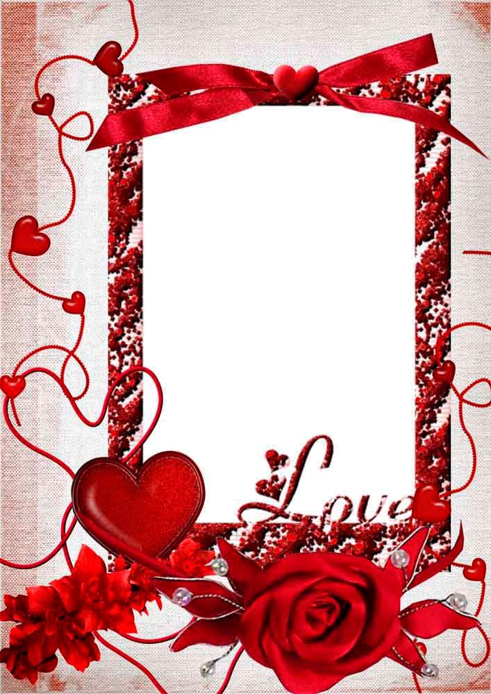 Download Love Frame PNG HD For Designing Work.