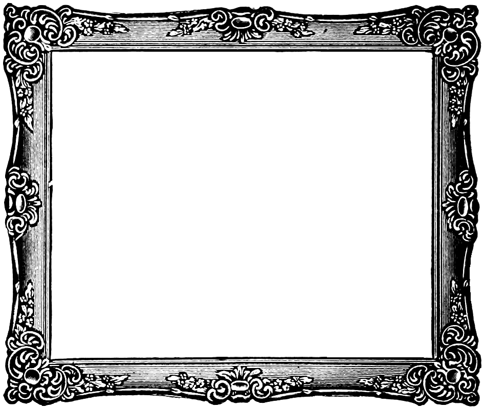 Fancy Frame PNG Transparent Images, Pictures, Photos.