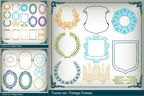 Picture frame border clip art free vector download (221,580.