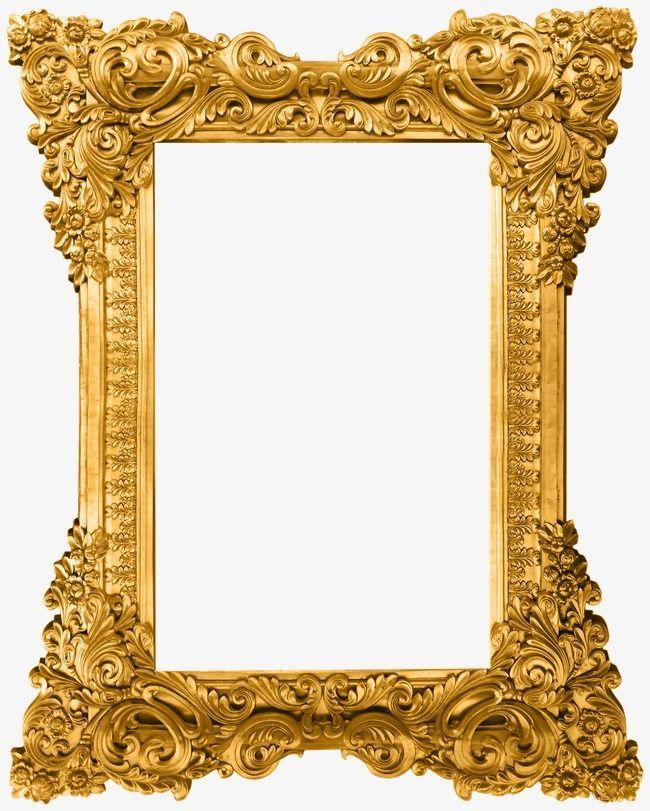 Gold Pattern Frame, Frame Clipart, Gold Frame, Frame Pattern.