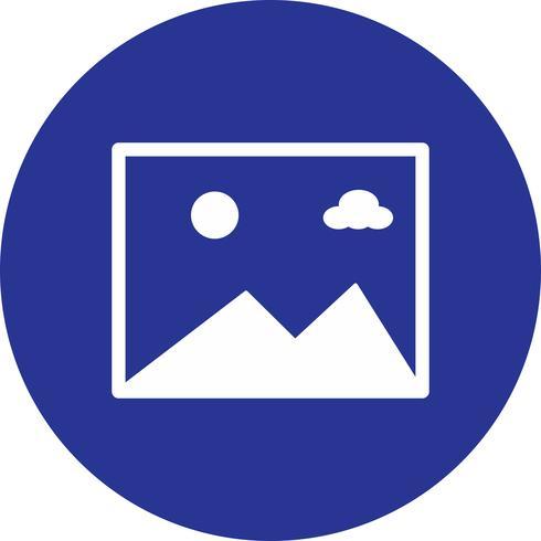 vector gallery icon.