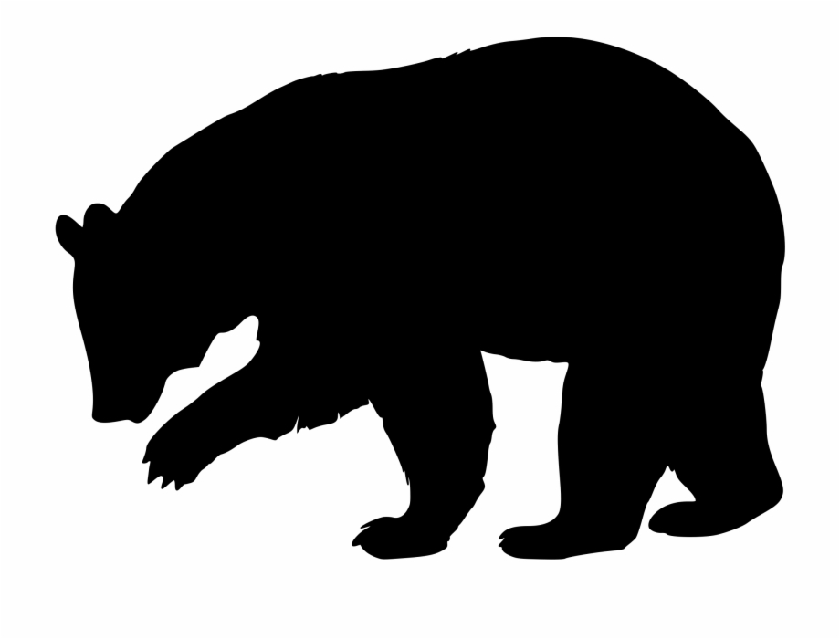 Black Bear Silhouette Icons Png.