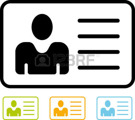Identification Clipart.