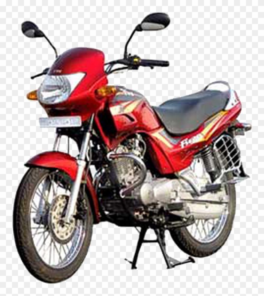 Hero Bike Png File.