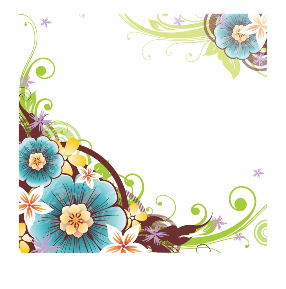 Flowers Borders Png File.