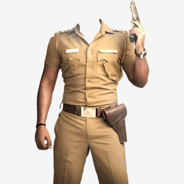 Police Frame Png India Police, Police Frame Png, Police.