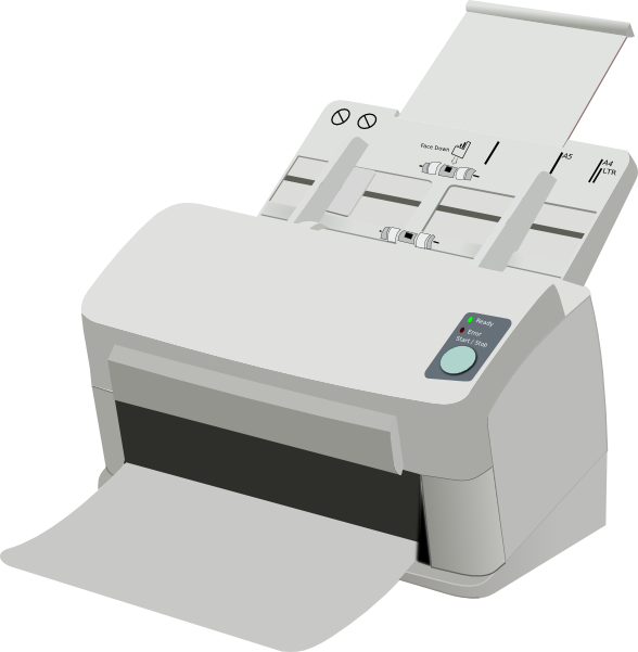 Scanning Clipart.