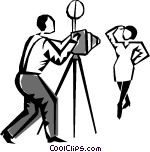 photo shoot Vector Clip art.