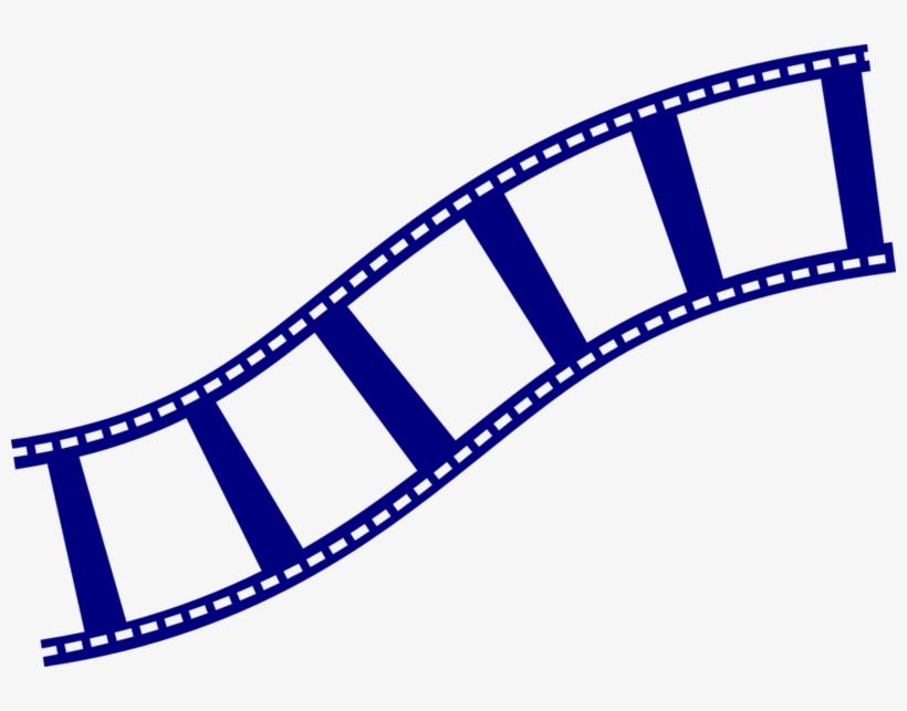 Film Strip Blu Clip Art.