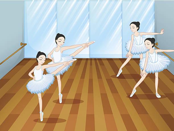Dance Studio Background Clipart.
