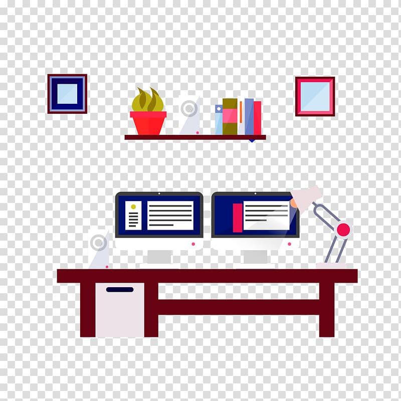 Design studio transparent background PNG clipart.