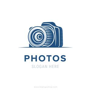 Photographer or photo studio logo design.
