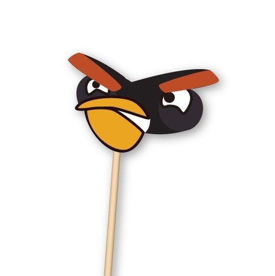 Angry Birds // Props para PhotoBooth.