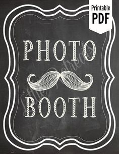 Photo Booth Clip Art.
