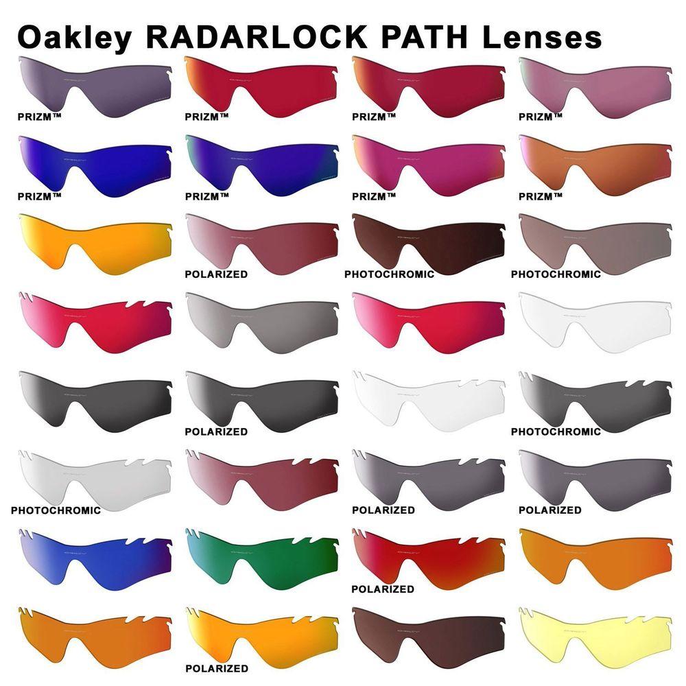 Oakley Authentic Lens RADARLOCK PATH new lens kit /optional.