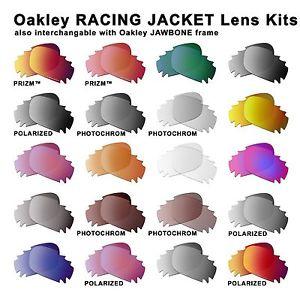Authentic Oakley Lens RACING JACKET JAWBONE /optional PRIZM.