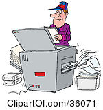 Clipart Photocopier Machines.