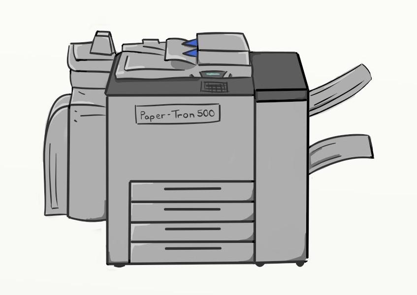 Copier Clipart.