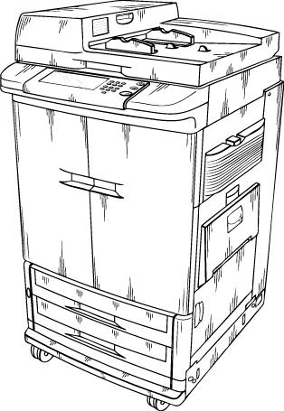 Free photocopier Clipart.
