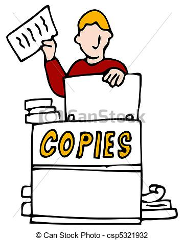 Photocopier Illustrations and Clip Art. 697 Photocopier royalty.