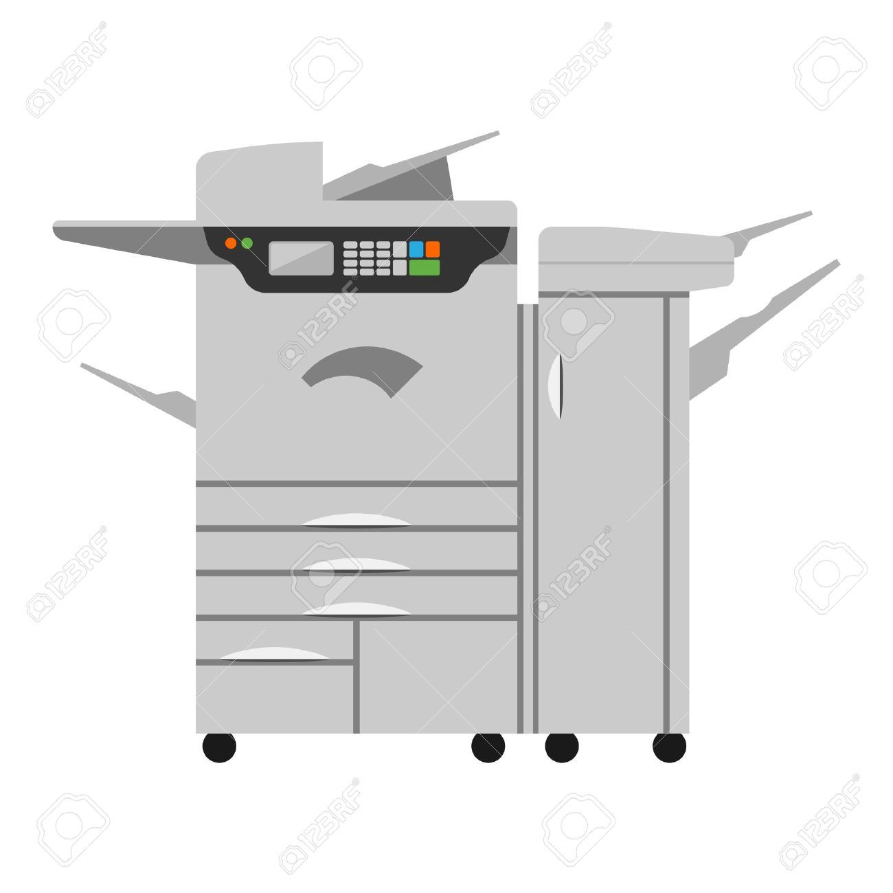Photocopy machine clipart 7 » Clipart Portal.