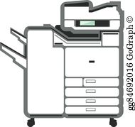 Photocopier Clip Art.