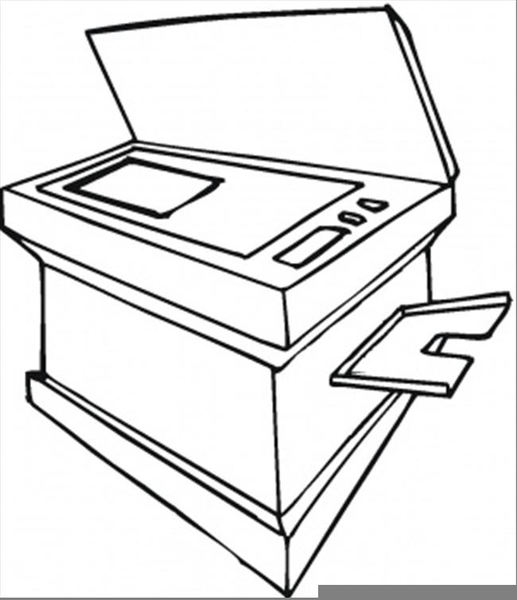 Free Copy Machine Clipart.