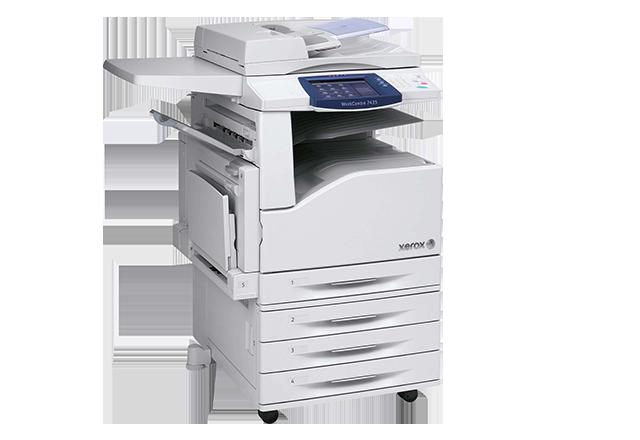 Xerox Copier Machine (PNG).