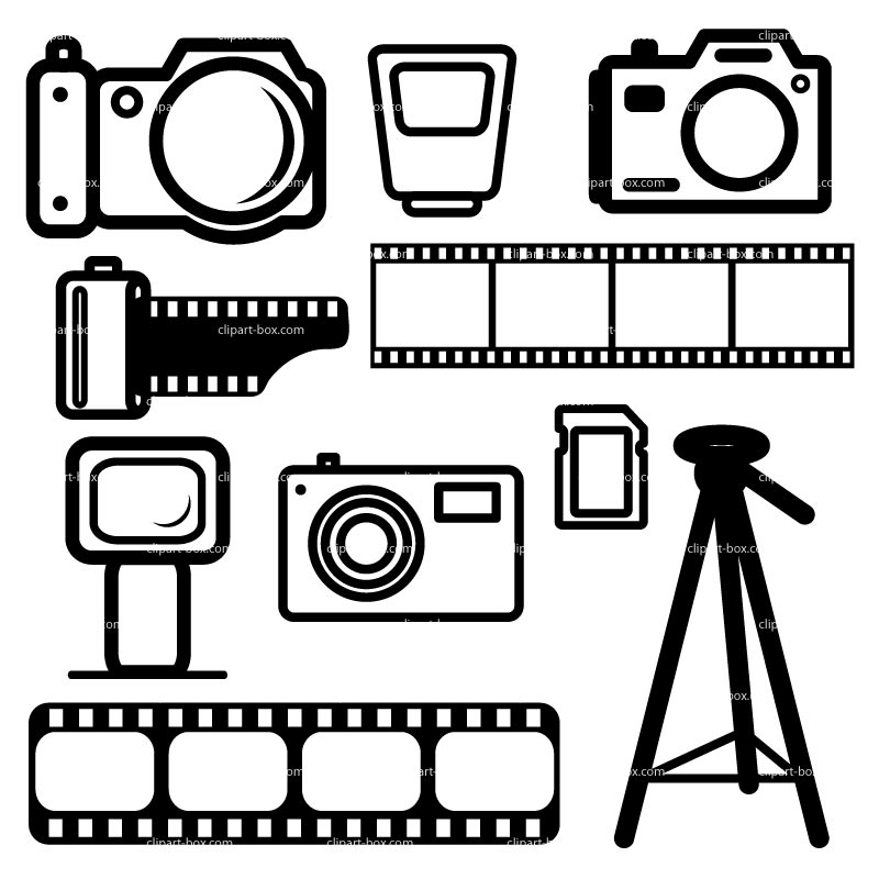 Photography Clip Art.