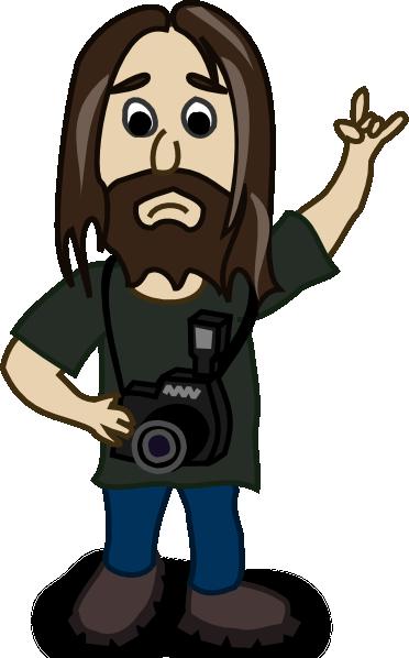 Photographer clip art Free Vector / 4Vector.