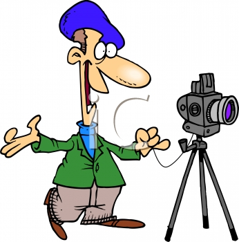 1403 Photographer free clipart.