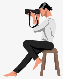 Free Photographer Clip Art with No Background.