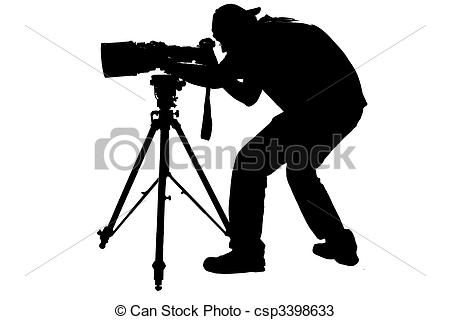Professional photographer clipart 3 » Clipart Station.