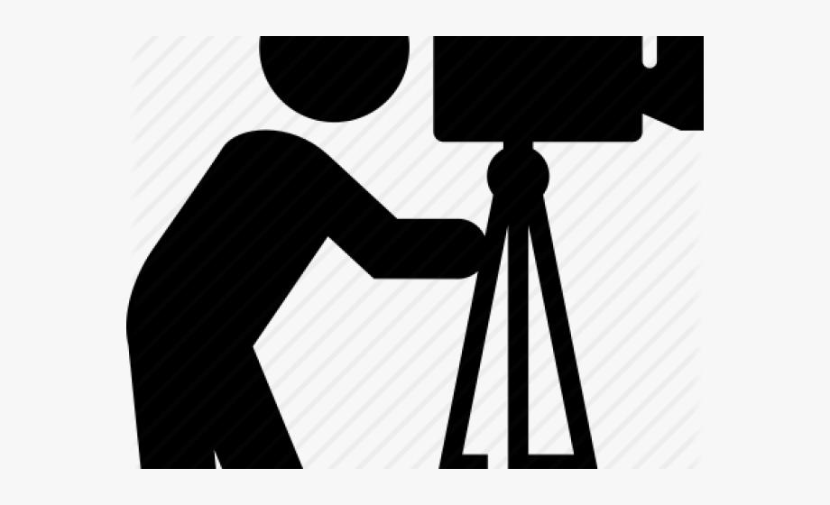 Video Camera Clipart Photographer Camera.