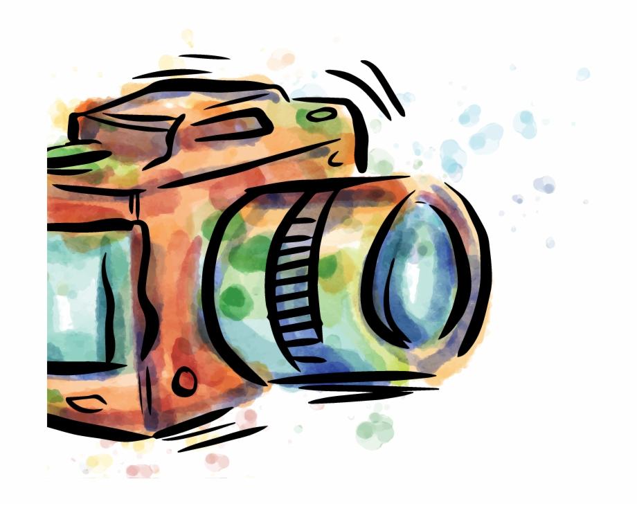 Camera Drawing Photography Camera Vector Hd.