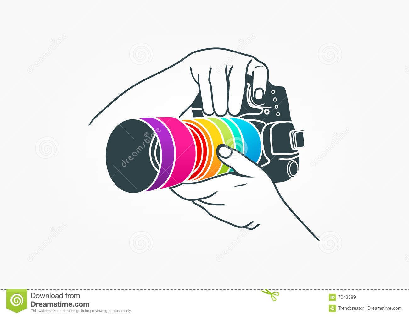 Photography Logo, Camera Concept Design.
