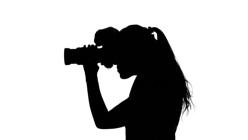 Photography Camera Silhouette.