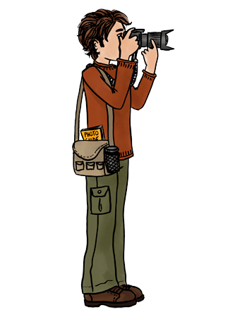 Phtographer Clipart.