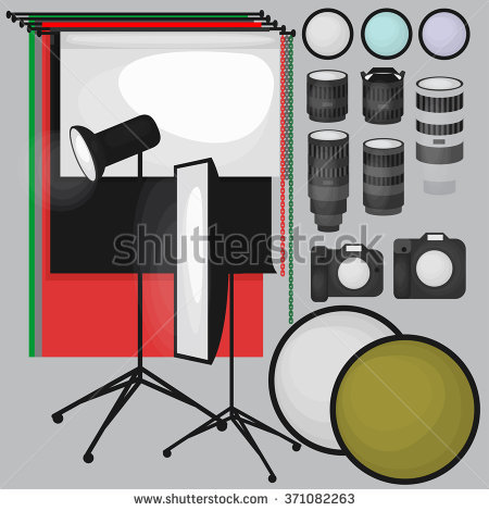 Photography Equipment Stock Photos, Royalty.
