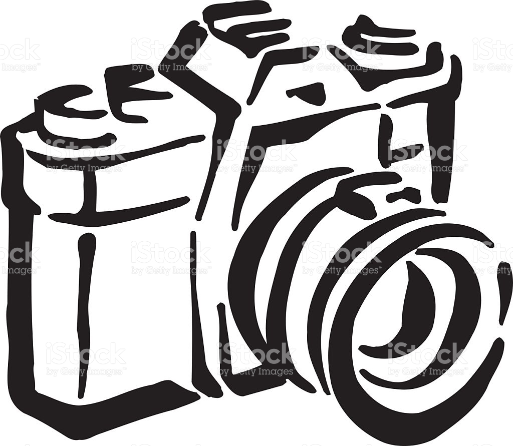 Old Camera Clipart Design stock vector art 518697975.