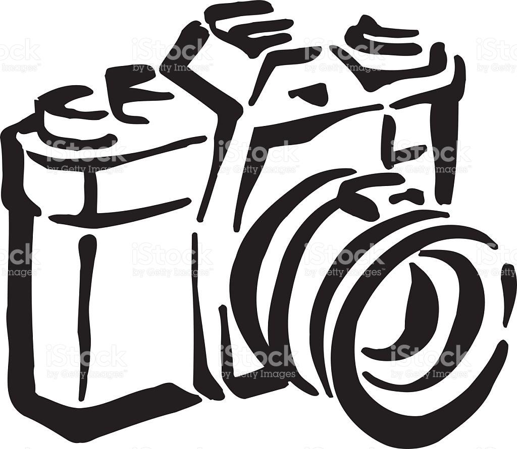Old Camera Clipart Design stock vector art 518697975.
