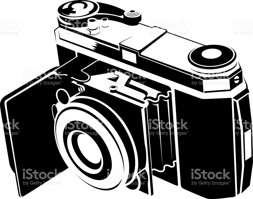 Old Film Camera stock vector art 134039188.